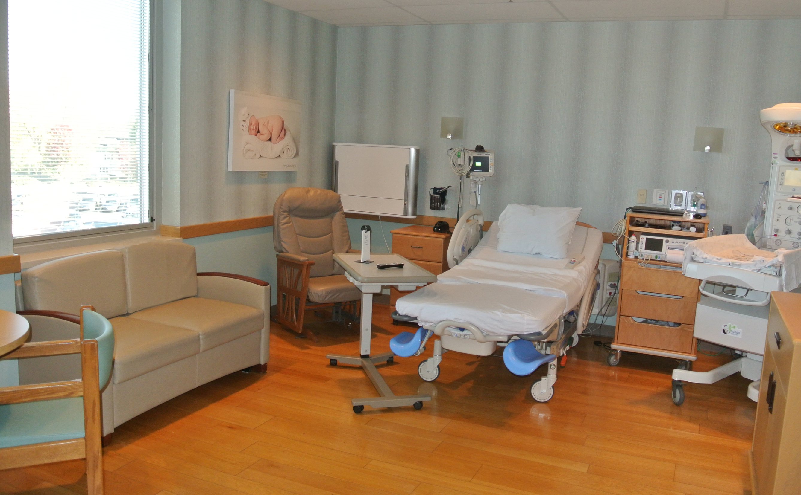 One of Birthplace's Seven Labor/Delivery/Postpartum/Recovery Rooms