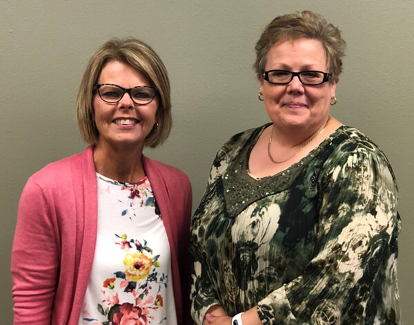 Aspirus Medford Foundation recently welcomed new directors Roxy Robida (left) and Sue Ackerman to its board.