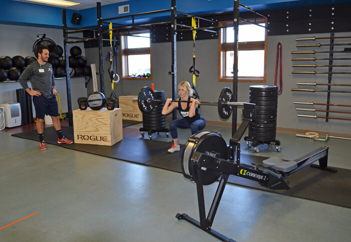 Functional Training Equipment at Aspirus' Fitness Center in Medford