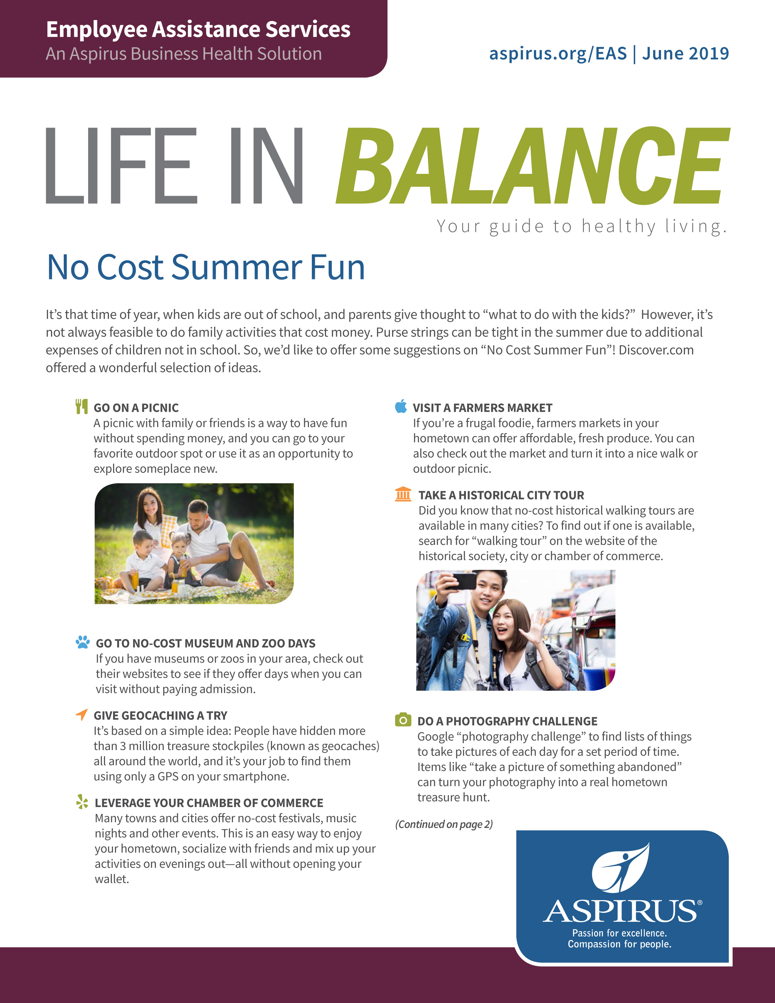 Life In Balance June 2019