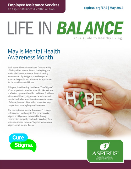 Life in Balance: May 2018 Edition