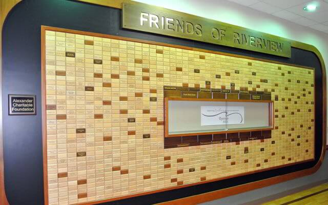 Foundation Donor Recognition Wall